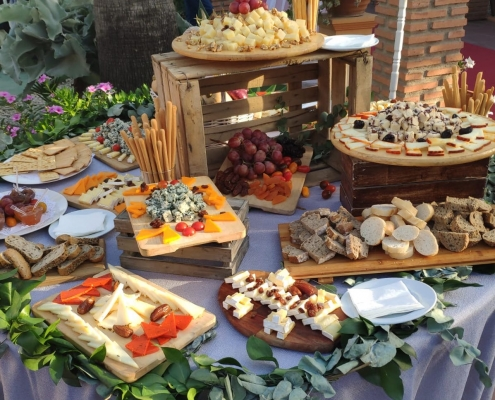 buffet de quesos catering para bodas